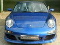 2007 PORSCHE 911 MK 997 CARRERA 2S CONVERTIBLE / SPORTS PETROL