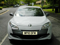 2010 Renault Megane 2.0 RS 250 Renaultsport White WITH FSH+LEATHER+KEYLESS+PDC++