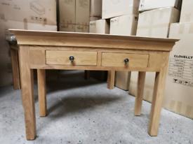 Normandy Oak Console Table