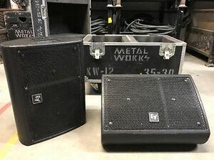 Electrovoice XW12 monitors