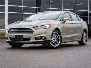 2015 Ford Fusion SE AWD   Heated Leather   Navigation   Moonroof