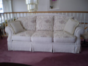 Sofa set with matching chair