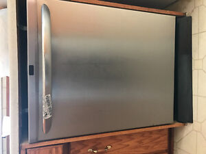 Stainless steel fridge,stove and dishwasher
