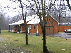 8.87 acre hobby farm with 4 bed house and large shop  REDUCED