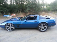 TRADE YA? OR CASH ,CUSTOM 1985 CORVETTE 300HP STANDARD
