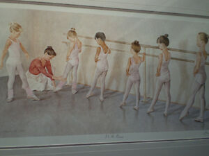 "John Newby - "" At the Barre "" - Limited Edition Print Kitchener / Waterloo Kitchener Area image 10"