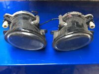 Bmw e46 m sport bumper front fog lamps and bulbs and connectors