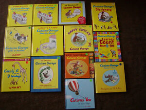 CURIOUS GEORGE BOOKS FOR CHILDREN (7)