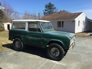 1975 Ford Bronco 4x4, Hard to Find, Price Drop