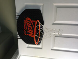 Over the door indoor basketball net