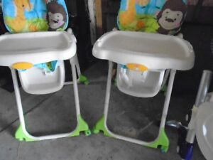 fisher price hi chair very clean 30.00 obo best offer