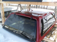 Used Ruby Red Raider Truck Canopy For 2008-2016 Superduty S/B Red Deer Alberta Preview