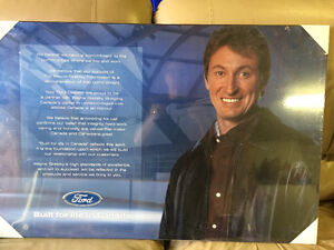 Wayne Gretzky ford advertisement Stratford Kitchener Area image 1