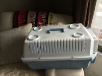 Cat carrier/ small dog carrier- excellent condition
