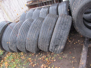 275/70/R/18 M & S Tires; Good Tread, $40 each, 4/$150 Prince George British Columbia image 1