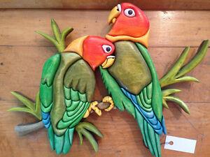 LOVE BIRDS by Woodworker Willie