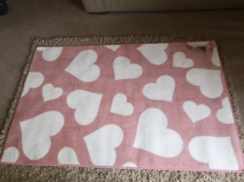 Brand new with tags girls bedroom rug