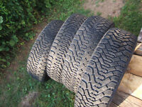 WINTER TIRES 205-60-16 GOOD TREAD $120