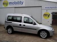 Vauxhall Combo 4 Seat Diesel WINCH Automatic Disabled Wheelchair Accessible WAV