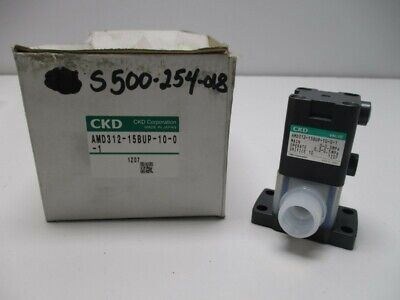 Ckd Amd312-15bup-10-0-1 Air Operated Valve New In Box