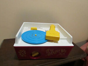 Fisher Price wind up record player and music box London Ontario image 2
