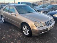 2002/02 Mercedes-Benz C220 2.1TD auto CDI Elegance SPARES REPAIR