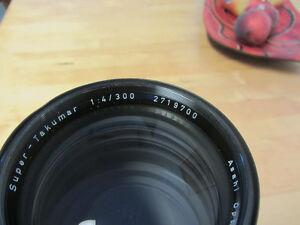 300 mm, f4 asahi takumar prime lens Kitchener / Waterloo Kitchener Area image 3