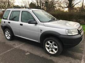 LAND ROVER FREELANDER ES 4X4 12 MONTHS MOT HEATED LEATHER SEATS SUNROOF AIR CON