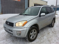 2003 Toyota RAV4 AWD LIMITED LEATHER SUNROOF CLEAN TITLE