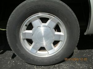Rims to fit 2006 GMC 6 bolt and snows