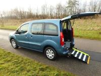 2011 Peugeot Partner Tepee 1.6 Hdi *ONLY 15K* Wheelchair Disabled Accesible WAV