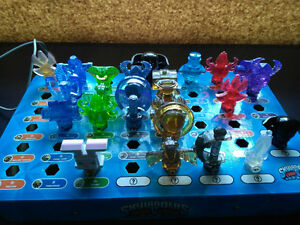 Skylander Trap Team Traps - including Kaos. Light & Dark