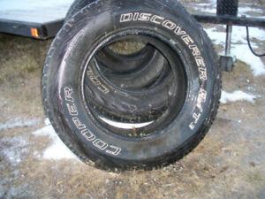 Tires- Cooper Discoverer