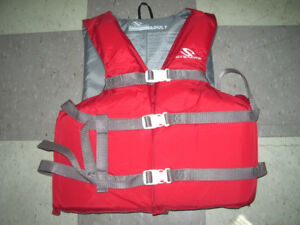 Stearns life jacket , size adult , never used
