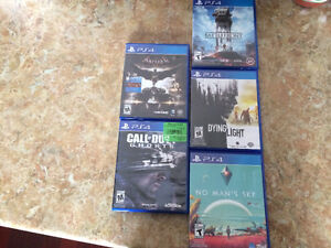 PS4 video game's! $100 for all them together 5 games!