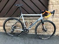 Cannondale CAADX cross bike. SRAM rival hydraulic. Size 58
