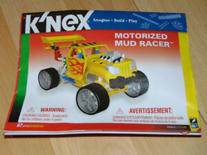 K'Nex  Motorized Mud Racer # 10902/71146