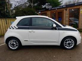FIAT 500 1.3 MULTIJET ( S/S ) SPORT IN WHITE