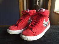 Women's Red Nike Blazers UK size 4