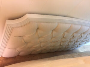Antique head board for king bed