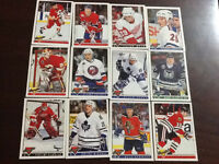 Collectible mint NHL Hockey cards from early 90s
