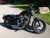 2010 HARLEY DAVIDSON XL1200X FORTY EIGHT
