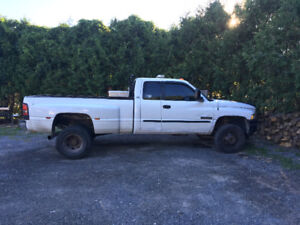 2001 Dodge Dually and Boss Plow for sale