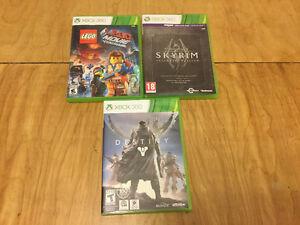 3 jeux Xbox 360 (usagés)