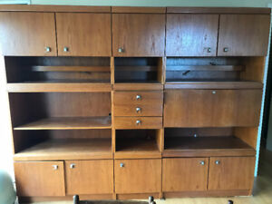 Teak Wall Unit for FREE