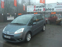 2010 CITROEN GRAND C4 PICASSO VTR 1.6HDi 7 SEATER, FULL SERVICE HISTORY