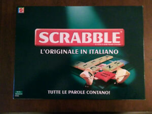 SCRABBLE FOREIGN EDITION ITALIAN