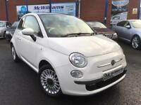 2013 Fiat 500 1.2 Lounge Hatchback 3dr Petrol Manual (start/stop) (113