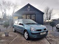 Renault Clio 1.2 AUTHENTIQUE (blue) 2004
