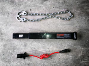 Extended hitch